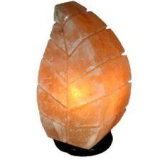 солевая лампа Лист