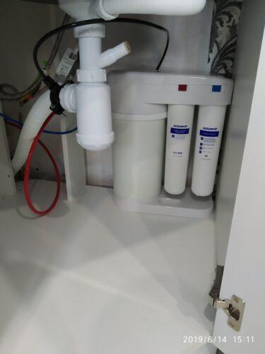 Пример установки фильтра для воды