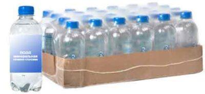 Вода упакованная