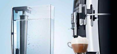 подключение фильтра к кофемашине